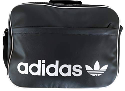 adidas Airliner Vintage Umhängetasche Schultertasche schwarz