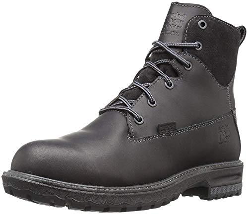 Timberland PRO Chaussures Noires 6 en Cuir Hightower Al WP pour Femme, 42 EU, Black