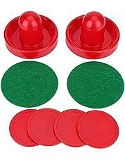 OKBY Accesorios de Hockey sobre Hielo - Porteros de plástico Ligero, empujadores de Hockey sobre Hielo, Juego de Discos de Repuesto para Juego de mesas