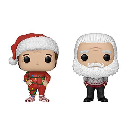 Funko Pop!: Bundle of 2: The Santa Clause - Santa and Santa with Lights