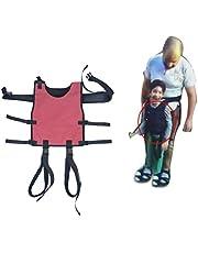YxnGu Cinturón de Transferencia con bucles para Las piernas - Dispositivo de Asistencia en la Marcha de la Seguridad de enfermería médica para Terapia Ocupacional y física para niños