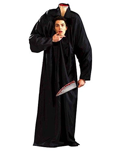Forum Novelties Headless Horseman Man Costume for Adults - (X-Large) Black