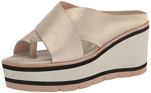 Donald J Pliner Women's Wedge Sandal, Platino, 10