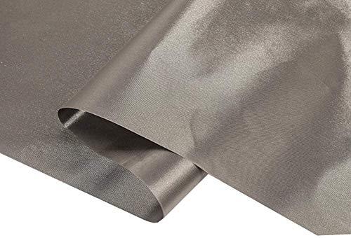 BRSL 1.08m de Ancho EMF RF RFID Paño blindado Radiación Radiación Conducta Suave DIY Uniforme Especial, Equipaje, Tienda, Cortina Material de blindaje de Tierra, 2m2 (Size : 2 Square Meter)