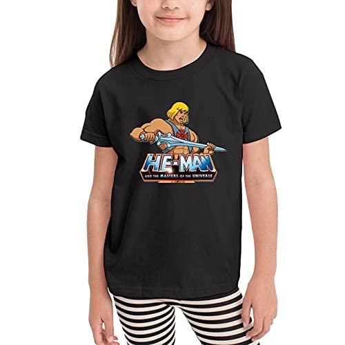 Children's He-Man T-shirt, Black, 2T to 6 years