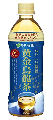 伊藤園 黄金烏龍茶 500ml×24本