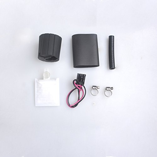 Clamps Universal Wiring Harness//Connector /& Installation Kit Rubber Gasket//Hose PLDDE New 255LPH High Performance GSS342 Replacement Racing Electric Gas Intank EFI Fuel Pump With Strainer//Filter