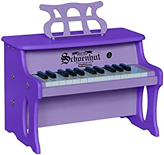 Schoenhut 25 Key 2 Tone Table Top Piano, 2X Purple