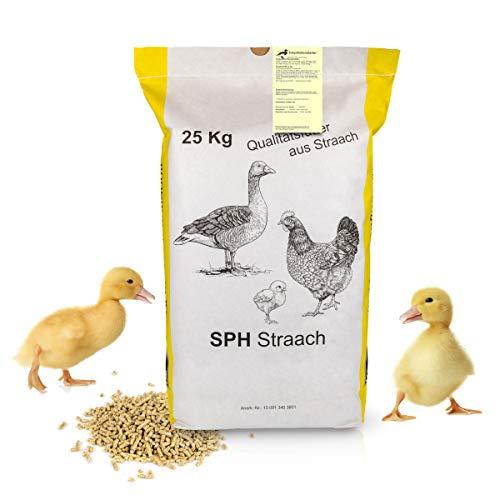 SPH Entenkükenstarter für Entenküken 25kg Sack - universelles Aufzucht Futter aus regionaler Produktion für Geflügel