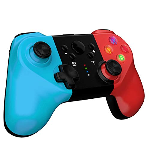 Rnnokate New Version Wireless Controller for Nintendo Switch, Switch Pro Controller with 6-axis Somatosensory, 4-Level Vibration Game Controller with 360°Joystick and Turbo Function Design