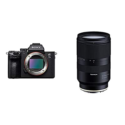 Sony a7 III Full-Frame Mirrorless Interchangeable-Lens Camera Optical with 3-Inch LCD, Black (ILCE7M3/B) with Tamron 28-75mm F/2.8 for Sony Mirrorless Full Frame E Mount (Tamron 6 Year Limited USA Warranty) from