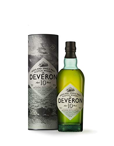 The Deveron 10 Ans, Old Single Malt Scotch Whisky, Whisky Ecossais, 70 cl, 40%