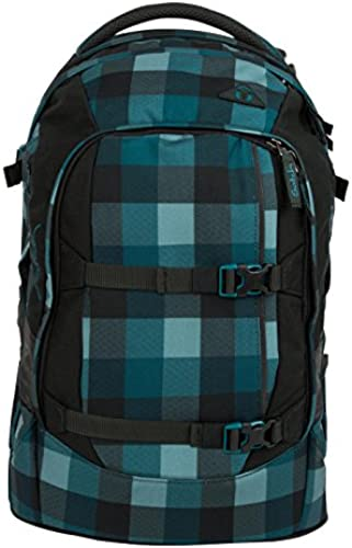 Satch Schulrucksack-Set 5-TLG Pack Blau Bytes blau