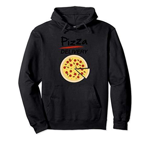 Disfraz de Repartidor Pizzas para Grupos Hombre Mujer Nios Sudadera con Capucha