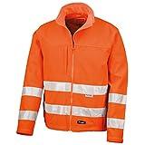 Result Core - Veste Softshell Haute visibilité - Homme (M) (Orange...