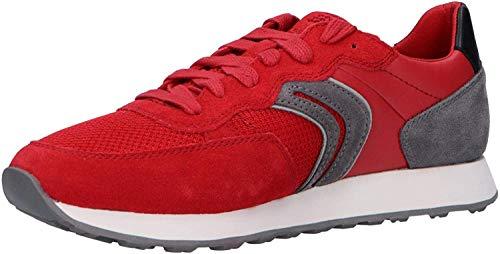 Colonos Ciego habilitar  ZAPATILLAS GEOX rojas 】 Todas las ⭐ zapatillas rojas ⭐ que imagines de GEOX  con las mejores ofertas de 2020