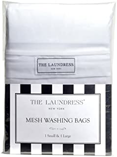 The Laundress - Mesh Washing Bags, 1 Small & 1 Large, 100% Nylon, Covered Zipper
