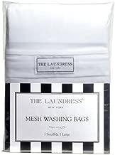 The Laundress - Mesh Washing Bags, 1 Small & 1 Large, 100% Nylon, Covered Zipper