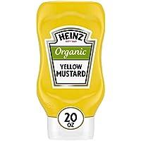 6-Pack Heinz Organic Yellow Mustard 20 oz Bottles