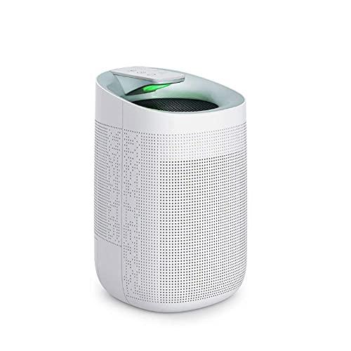 LKJHG Deumidificatore Domestico Intelligente da 1500 ml Macchina per deumidificazione e purificazione Ultra Domestica Assorbitore di umidità a 360° Ideale per umidità e condensa in casa