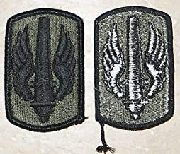 Military Patch US Army 18th Fires Brigade Field Artillery Green OD BDU Sew-on by HighQ Store