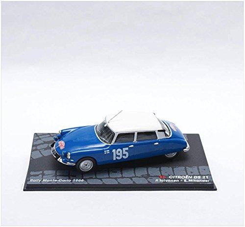 IXO Coches Rally 1:43 1/43 Citroen DS21 Toivonen/Mikander 1966 eRAL049