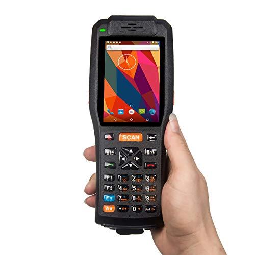 Terminale PDA 4 pollici schermo del palmare con all-in-one stampante / Android palmare 2D Barcode Scanner, supporto 1D / 2D QR Reader, 58mm stampante termica, NFC e supporto fotocamera da 8 megapixel