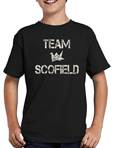 TShirt-People Team Scofield - Camiseta para niño Negro 152/164 cm