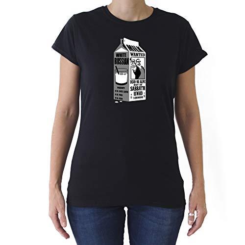 GAMBA TARONJA White Russian - Camiseta - Chica - EL Gran Lebowski - Big Lebowski