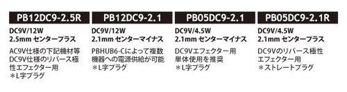 『CAJ カスタムオーディオジャパン 電源アダプター POWER BLOCKS PB12DC9-2.1 (12W/センターマイナス)』の4枚目の画像