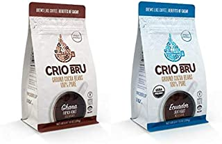 Crio Bru Variety Pack Organic Herbal Tea Coffee Alternative Substitute 99% Caffeine Free Whole-30 Gluten Free Honest Low C...