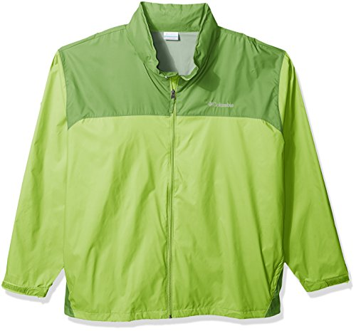 Columbia Men's Big-Tall Glennaker Lake Big & Tall Rain Jacket Outerwear, -Fission, Spring, 2XT