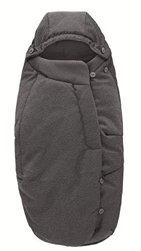 Bébé Confort SACO de abrigo 'Sparkling Grey' - Saco de abrigo para cochecito, color gris oscuro