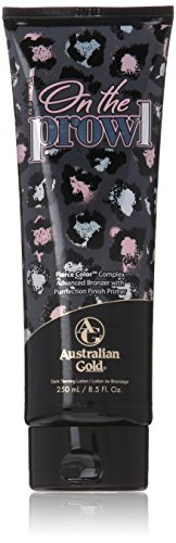 Australian Gold On the Prowl Advanced Bronzer Tanning Bed Lotion, 8.5 Fluid Ounce