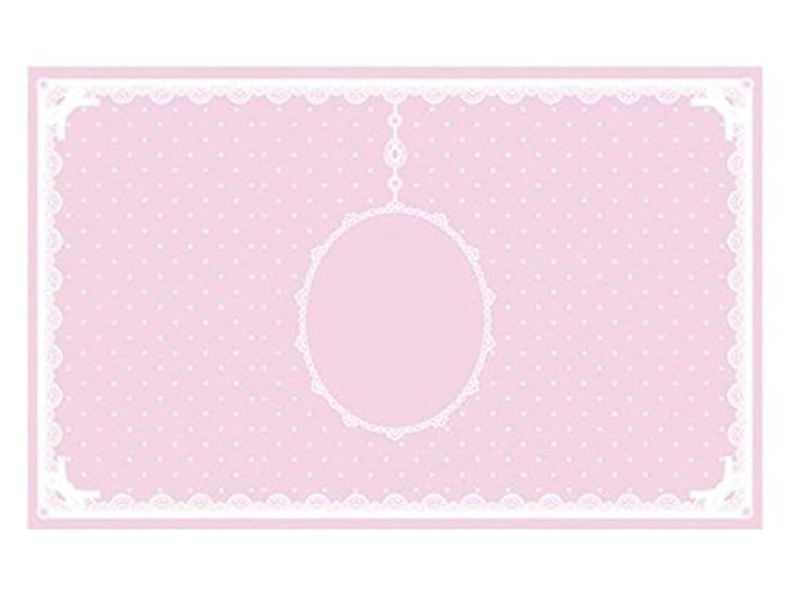見える国内の真珠のようなシリコンマット(表面コート)ピンク