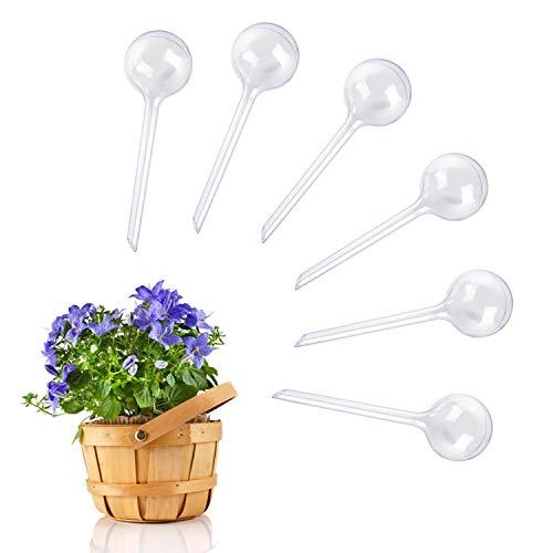 LATTCURE Bewässerungskugeln, 6 Stück Dosierte Bewässerung für Garten Haus Indoor Outdoor Bewässerung Wasserspender Bewässerungskugel