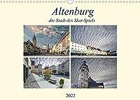 Altenburg, die Stadt des Skat-Spiels (Wandkalender 2022 DIN A3 quer): Eine aussergewoehnliche Stadt, wo immer noch Kartenspiele hergestellt werden. (Monatskalender, 14 Seiten )