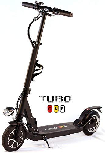 Tubo One, Monopattino Elettrico Pieghevole per Adulto, 11 kg, Ruote 8 Pollici, Motore 250W, Batteria 36V 5Ah, Autonomia 15Km