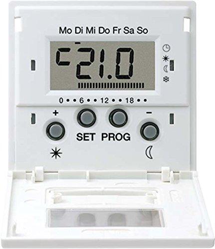 Jung LSHLK-FTWW Uhren-Funk-Thermostat-Display