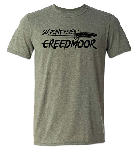 Zepp Tees 6.5 Creedmoor T-Shirt Precision Rifle Long Range Competition Green XL