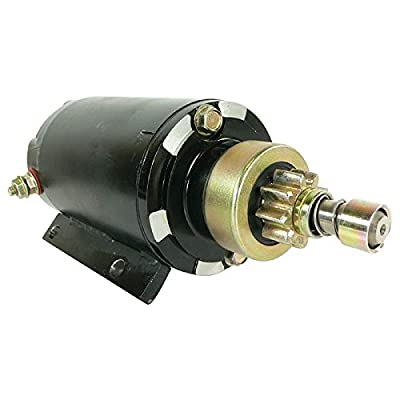 DB Electrical SAB0147 New Starter For Omc Evinrude Outboard 15 25 30 40 50 60 65 75 90 Hp 2004-2011, 586768 587045 10599640, 5358 Arco 2-2796-2 5909 10599640 410-21087 4-6826 5358 MOT2013