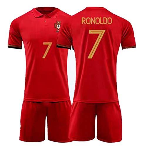 CBVB Fußballtrikot, Silva 9# 7#, Portugal Fußballuniformen, 2020-2021 (Heim & Auswärts), Erwachsene, Kinder, Spieltraining, Maßgeschneidert-Home7#-24