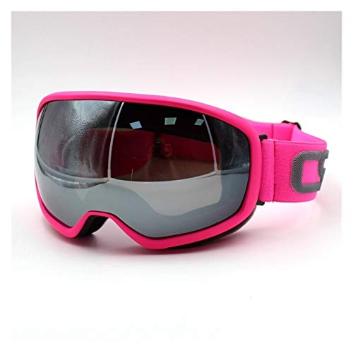ZPEE Skibrillen Skibrille Sphärische Oberfläche Doppel-Objektiv UV400 Ski-Maske Brille Ski Männer und Frauen-Schnee Snowboardbrillen Schneesportbrille (Color : E)