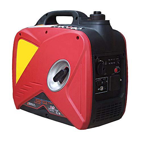 TGHY Generador Portátil Inverter Generador de Gas de 2000w / 3000w Apagado de Combustible Súper Silencioso y Liviano Motor de 4 Tiempos de 79cc / 212cc,1600w