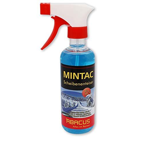 ABACUS MINTAC 300 ml Konzentrat -70°C (4095) - Scheibenfrostschutz Scheibenenteiser Scheiben Spiegel Enteiser Antifrost Scheibenreiniger Scheinwerferreiniger Eisfrei Glasreiniger Scheibenreiniger