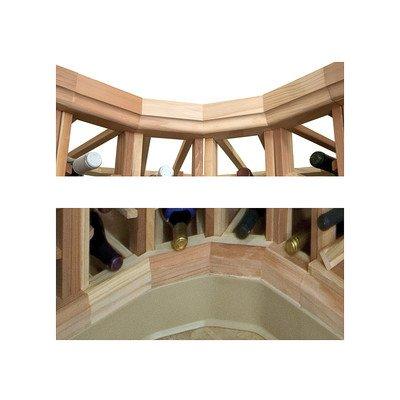 Designer Straight Molding Kit (All-Heart Redwood - Dark Walnut Stain)