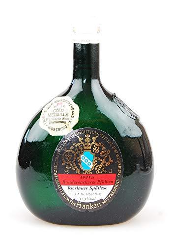 Wein 1991 Randersackerer Pfülben Rieslander Spätlese