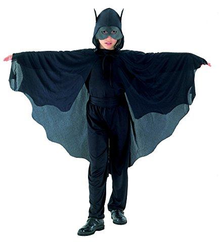 Smiffys Costume Pipistrello Cappuccio e Ali comprende Body