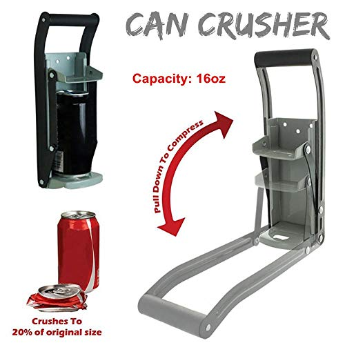Coner 16 Ouns Heavy Duty Can Crusher Smasher Soda Beer Cola Budweiser Recycling Tool Thuisafgifte Can Crusher Flesopener