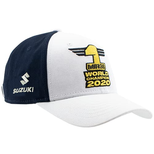 Suzuki MotoGP Ecstar Team - Gorra de béisbol, color azul, talla única